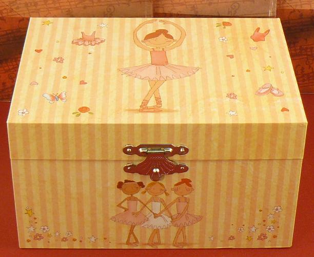 Spieluhr Ballerina Kompakt