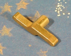 Ersatz-Schlüssel (Messing) 10 mm