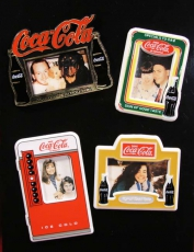 ENESCO Coca-Cola Magnete Bilder Rahmen-Set