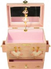 Enchantmints Spieluhr mit Schubladen B1018 - GR 4 Ballerina