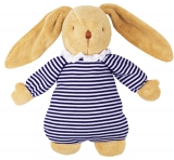 Trousselier Baby-Spieluhr Hase Marine-Stripes blau