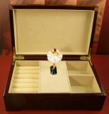 BÖHME Spieluhr Holzschatulle 89002K - Kaiserwalzer - Degas mit Ballerina