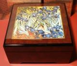 BÖHME Spieluhr Holzschatulle KL 893220 - Iris / Vincent van Gogh