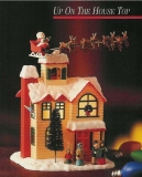 ENESCO Weihnachts-Spieluhr Up On The House Top