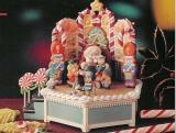 ENESCO Weihnachts-Spieluhr A Visit With Santa