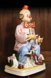 Clown mit Marionette, aus der Serie Melody in Motion
