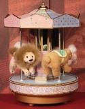 ENESCO Spieluhr Karussell Gold Label Carousel