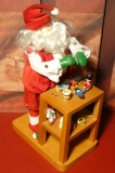 ENESCO Holz-Spieluhr Santa`s Workshop