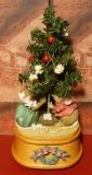 ENESCO Spieluhr Mäuse-Weihnachten / Tannenbaum