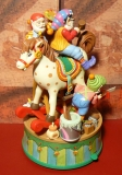 ENESCO Weihnachts-Spieluhr North Pole Christmas Commotion