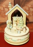 ENESCO Spieluhr 626988 Precious Moments - Our Warmest Wishes THis Christmas