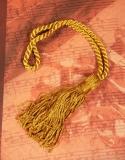 Trodel / Quaste für Weihnachtsglocke gold