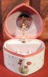 Trousselier Spieluhr Herz mit Fee S30107 - Herz Flower Fairy SI