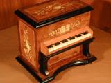 DEICHERT Spieluhr 103.000 - Klavier mit Intarsien XL