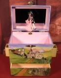 Enchantmints Spieluhr mit Schubladen B1031 - Tanzpaar GR 4