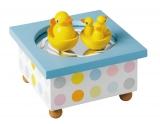 Trousselier Holz-Kinder-Spieluhr Tanzende Enten