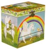 Enchantmints Spieluhr mit Pferd B1201 - GR 4 Pegasus mit 4 Schubladen