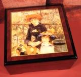 BÖHME Spieluhr Holzschatulle KL 89206 - Auf der Terrasse / Renoir