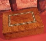 GIGLIO Spieluhr O-SM 7C - G moderne Holzschatulle matt