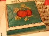 DEICHERT Spieluhr 49 GR 2N - Holzschatulle mit Intarsien 2N grün