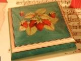 DEICHERT Spieluhr 49 GR 6N - Holzschatulle mit Intarsien 6N grün