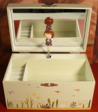 Trousselier Spieluhr XL mit Schublade S60608 - Ninon & Nioui Aquatique (grün)