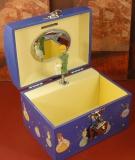 Trousselier Spieluhr Truhe Spardose S83230 - Der kleine Prinz