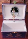 W&P Spieluhr Truhe Kompakt 6021563 - Ballerina blue