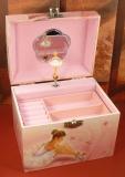 Trousselier Spieluhr Truhe mit Perlengriff S90974 - White Ballerina