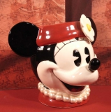 ENESCO Disney-Serie Minnie Kopf Vase