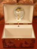 W&P Spieluhr Truhe Kompakt 6021564 -  Elfe auf Blüte