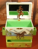 Enchantmints Spieluhr mit Schubladen B1601 - GR 4 Brown Horse