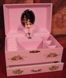Trousselier Spieluhr XL mit Schublade S60126 - Rosa Ballerina