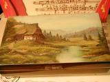 DEICHERT Spieluhr Holzschatulle mit Bild DEI H 020 - Haus Grace